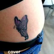 cover papillon cicatrisé